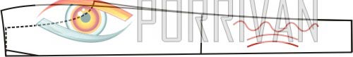 ВТО передних половинок мужских брюк