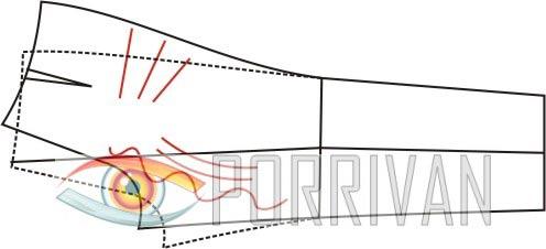 ВТО задних половинок мужских брюк