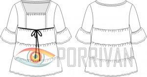 Выкройка короткого платья