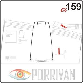Простая выкройка юбки для начинающих
