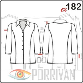 Выкройка простой блузки