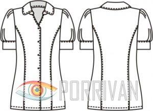 a236e3ba6a0 Выкройка блузки с рукавом фонарик - Porrivan