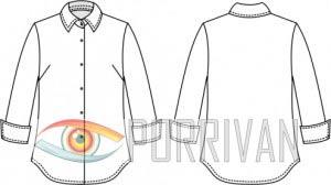 Выкройка блузки для беременных