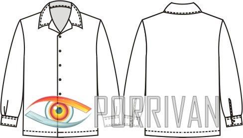 Выкройка рубашки для мальчика с длинными рукавами