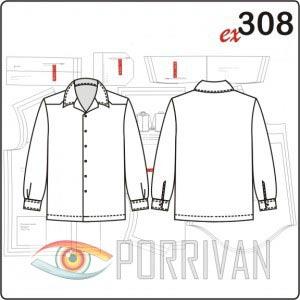 Викрійка сорочки для хлопчика - Різне - Все про шиття - Ший сама 34a370170eaac
