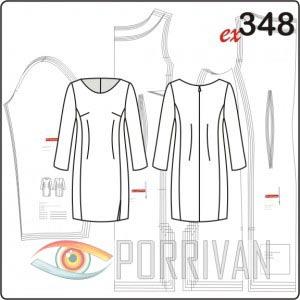 1357961c1 Выкройка платья футляр: три популярные модели