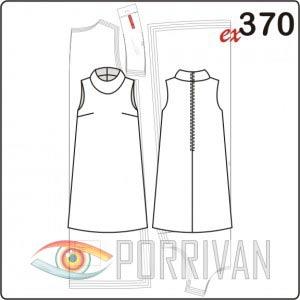 b00156d1dc5 Выкройка платья трапеции - Porrivan