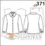 Выкройка классической блузки