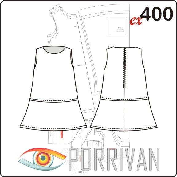 Выкройка простого свободного платья фото 775
