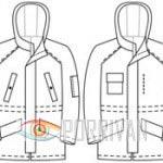 Асимметрия в куртках