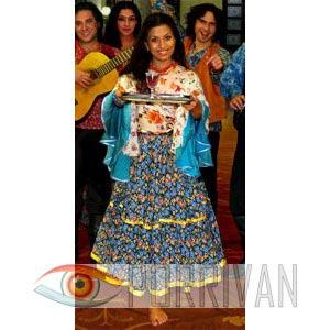 Цыганский стиль в одежде