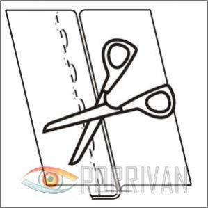 Настрочной шов, рисунок 3