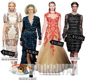Платья за 10000 долларов