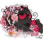 цветочный принт в летней одежде