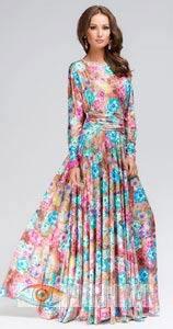 Разнообразие вечерних платьев