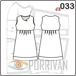 Выкройка платья с драпировкой качели
