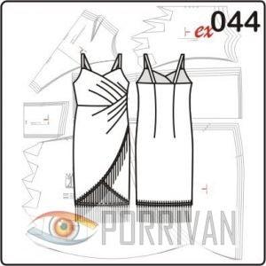 Выкройка платья в ретро стиле