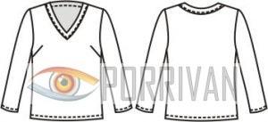 Шёлковая блузка для полных