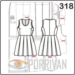 Викрійка літнього плаття з льону - Різне - Все про шиття - Ший сама 9d57538fc8709