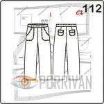 Выкройка брюк капри с накладными карманами