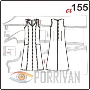Платье приталенного силуэта в пол с рельефными швами и карманами