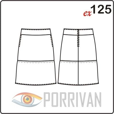 44 размер юбки