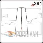 Выкройка брюк для размеров 40, 42, 44, 46