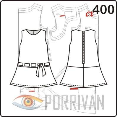 Выкройка детского платья 8 лет