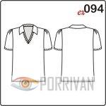 Выкройка приталенной блузки с коротким рукавом фото 488