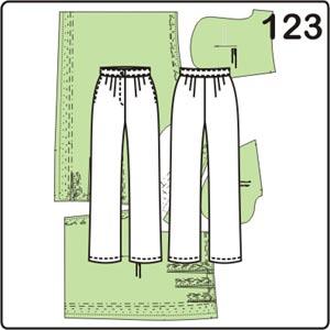 новая выкройка женских брюк