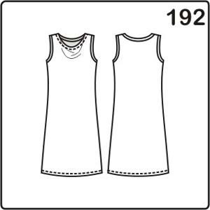 выкройка летнего платья с драпировкой на горловине