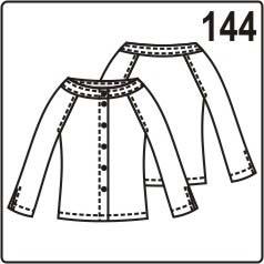 бесплатная выкройка блузки с вырезом кармен