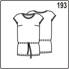 бесплатная выкройка летней блузки с кулиской на бёдрах
