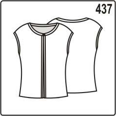 бесплатная выкройка блузы
