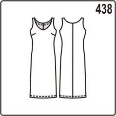 бесплатная выкройка шёлкового платья с кроем по косой