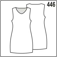 выкройка простого платья из трикотажа