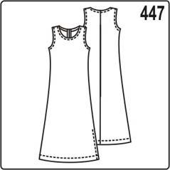 выкройка простого платья для полных женщин