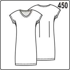 выкройка простого трикотажного платья