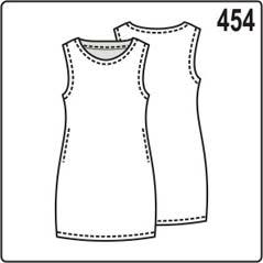 выкройка узкого платья футляр из трикотажа