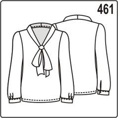выкройка блузки без застёжки