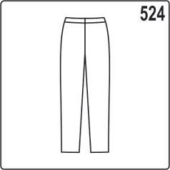Выкройка женских летних брюк на резинке