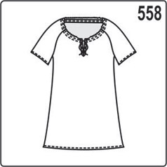 выкройка летней блузки из шёлка для размеров 48, 50, 52, 54